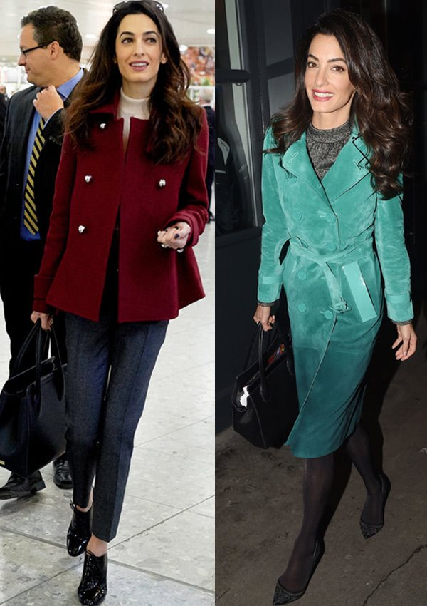 SigneChic | Look For Less: Amal Clooney's Winter Street Style